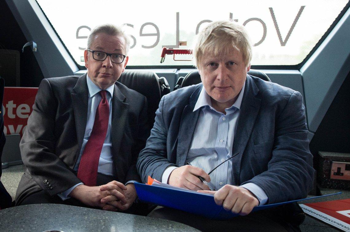 Michael Gove and Boris Johnson during the 2016 referendum