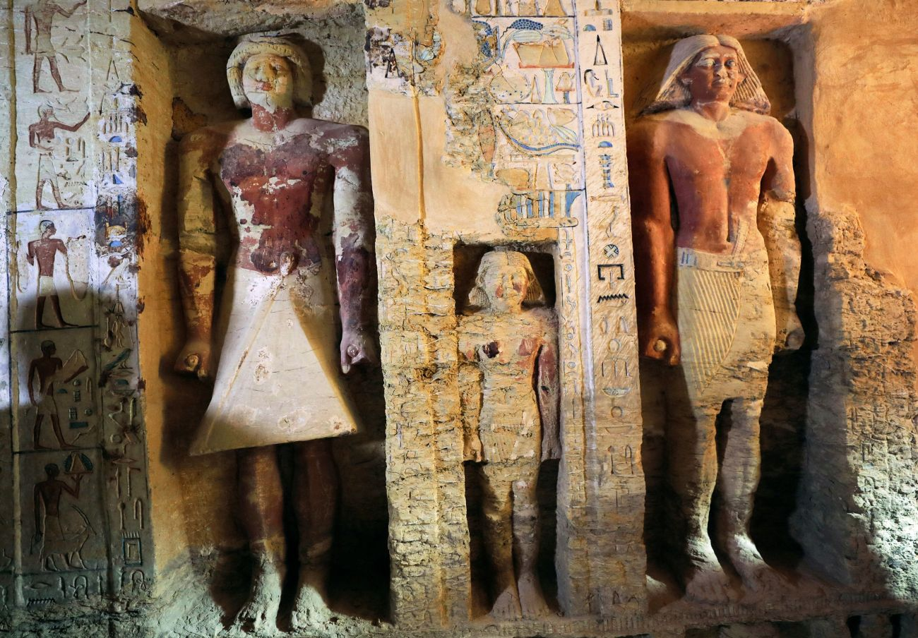 Egypthas revealed over a dozen ancient discoveries this year.