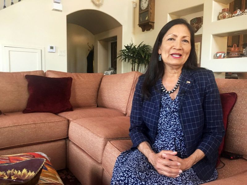 Rep. Deb Haaland (D-N.M.), one of two Native women who just made history by getting elected Congress, has defended Warren's e
