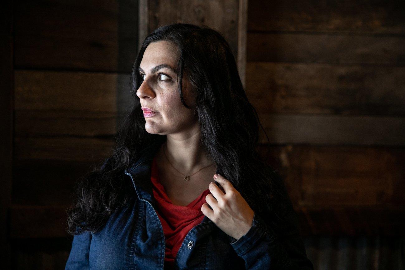 Nina Kouprianova poses for a portrait in Whitefish, Montana.
