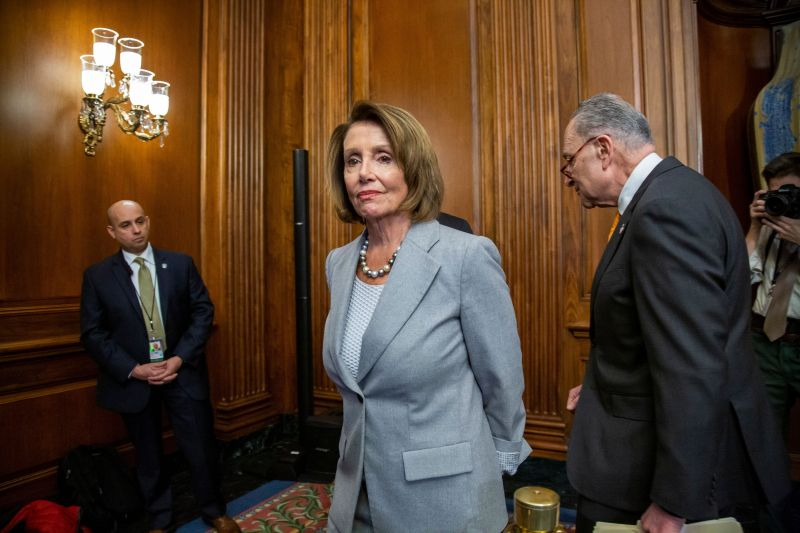 House Speaker Nancy Pelosi (D-Calif.) said Democrats plan to move forward with bills to fund the government -- but not Presid