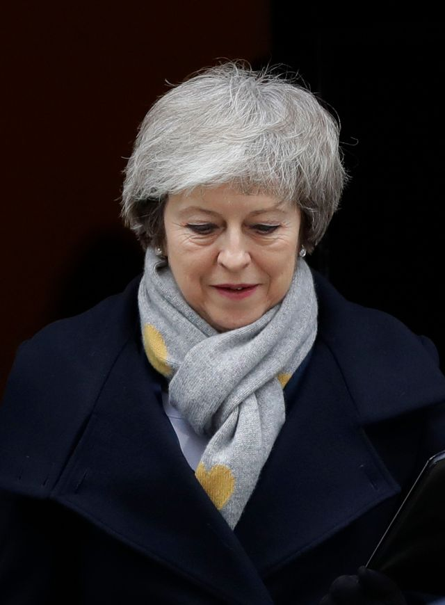British Prime Minister Theresa Maycalled a confidence vote in her own government.