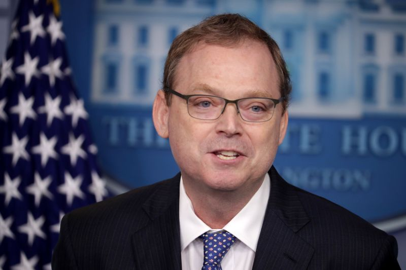 Council of Economic Advisers Chairman Kevin Hassett said the economy will take a big hit from the shutdown this quarter but i