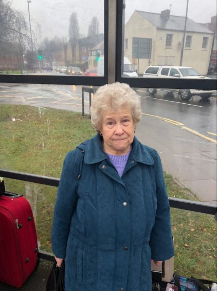 """Jocie Lucas, 80. """"I've lost some of that independence to travel where and when I want, and now I have to rely on lifts from family."""""""