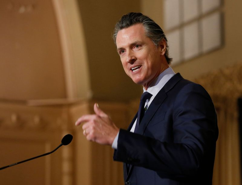 California Gov. Gavin Newsom (D)'s action is a fresh, if symbolic, affront to President Donald Trump's description of