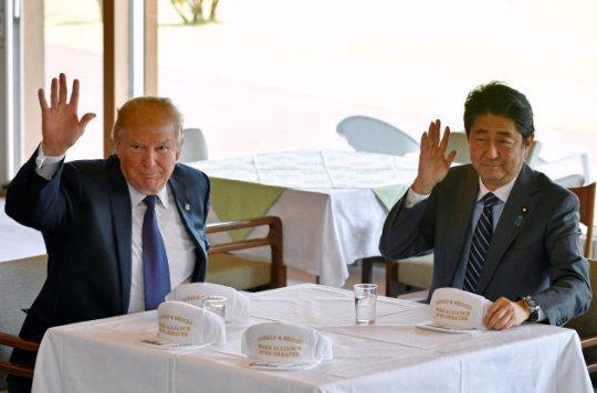 トランプ大統領、ゴルフ動画を公開 「安倍首相と松山英樹は素晴らしい!」 | ハフポスト
