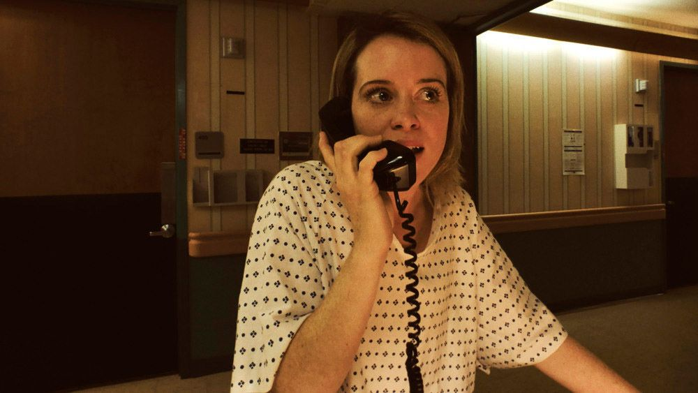 """Claire Foy in """"Unsane."""""""