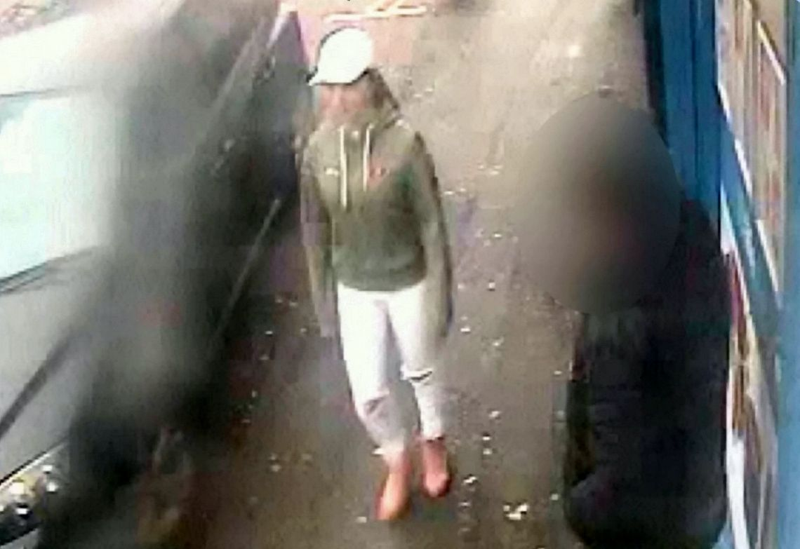 CCTV of Viktorija on the day of her murder in Wolverhampton