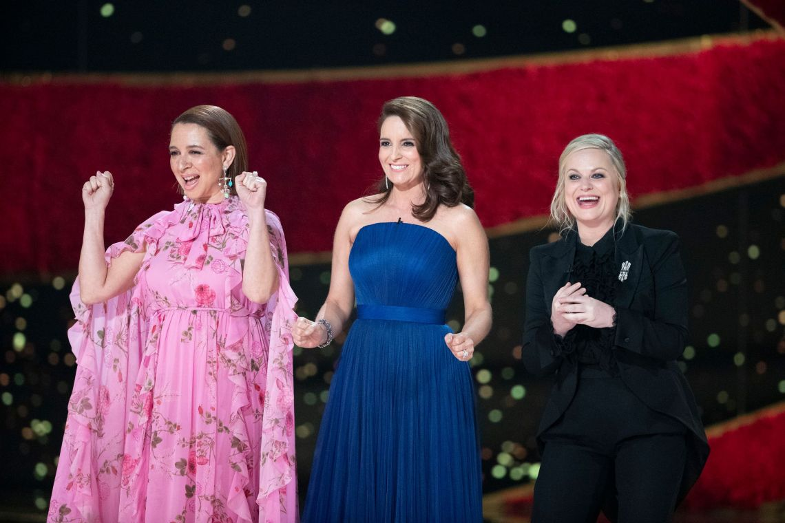 We knew it was all going to be ok when these three stepped on stage