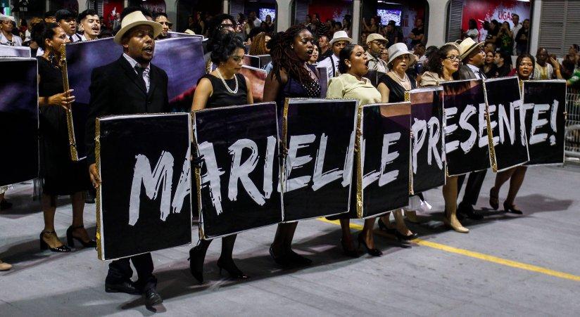 Image result for rio carnival 2019 franco protests