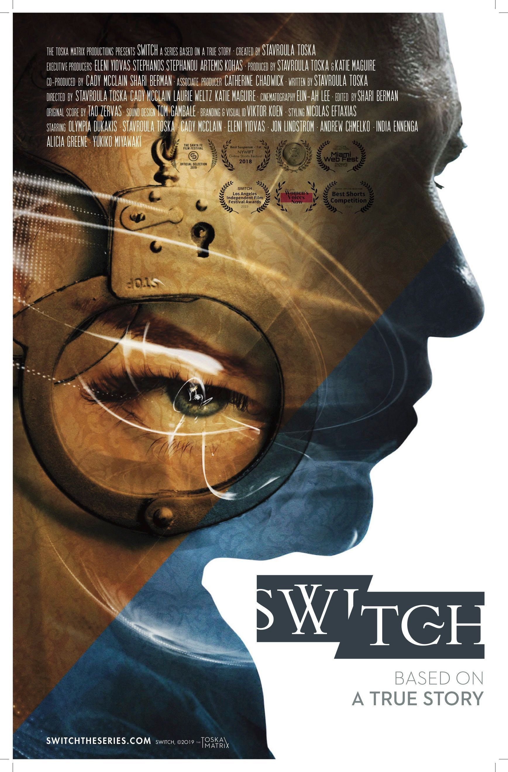 A poster for SWITCH.