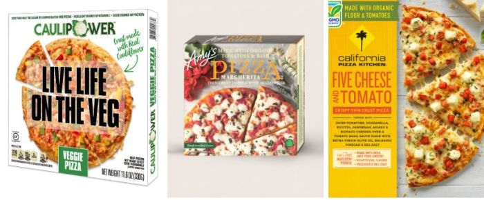 Samantha Stewart's top three picks: Caulipower, Amy's and California Pizza