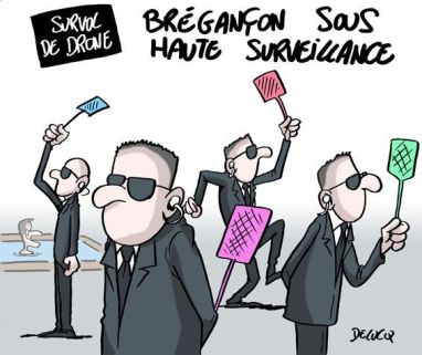 À Brégançon, les services de sécurité ont déployé une solution anti-drones  des plus sophistiquées   Le HuffPost