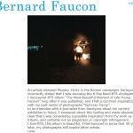 """프랑스 사진작가 베르나르 포콩이 """"방탄소년단은 내 작품을 표절하지 않았다""""라고 말했다"""
