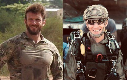 Cédric de Pierrepont (left) and Alain Bertoncello died last night in the operation ...