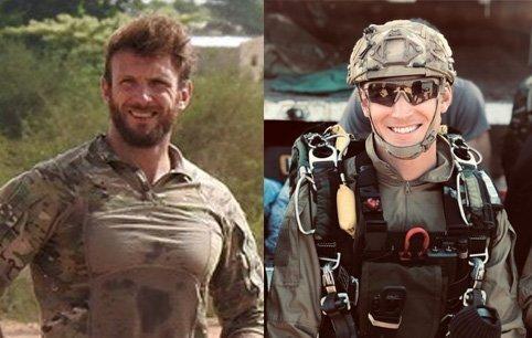 Cédric de Pierrepont (left) and Alain Bertoncello died last night in the operation ...