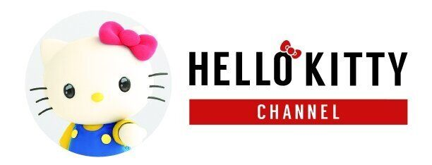 YouTubeに開設したハローキティチャンネルのロゴマーク