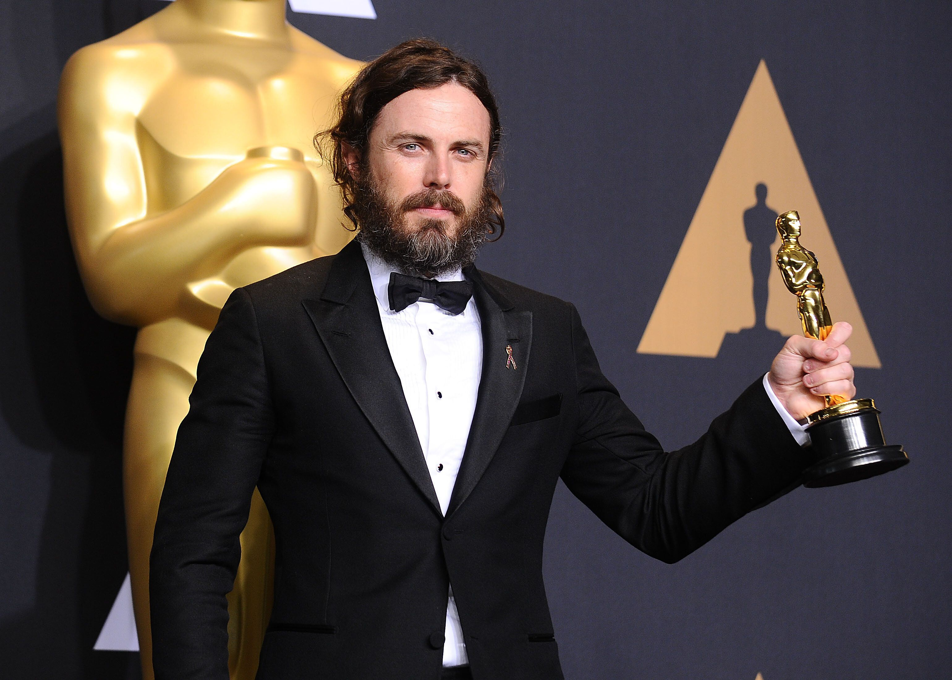 Casey Affleck took home the trophy for Best Actor at the 89th annual Academy Awards in 2017.