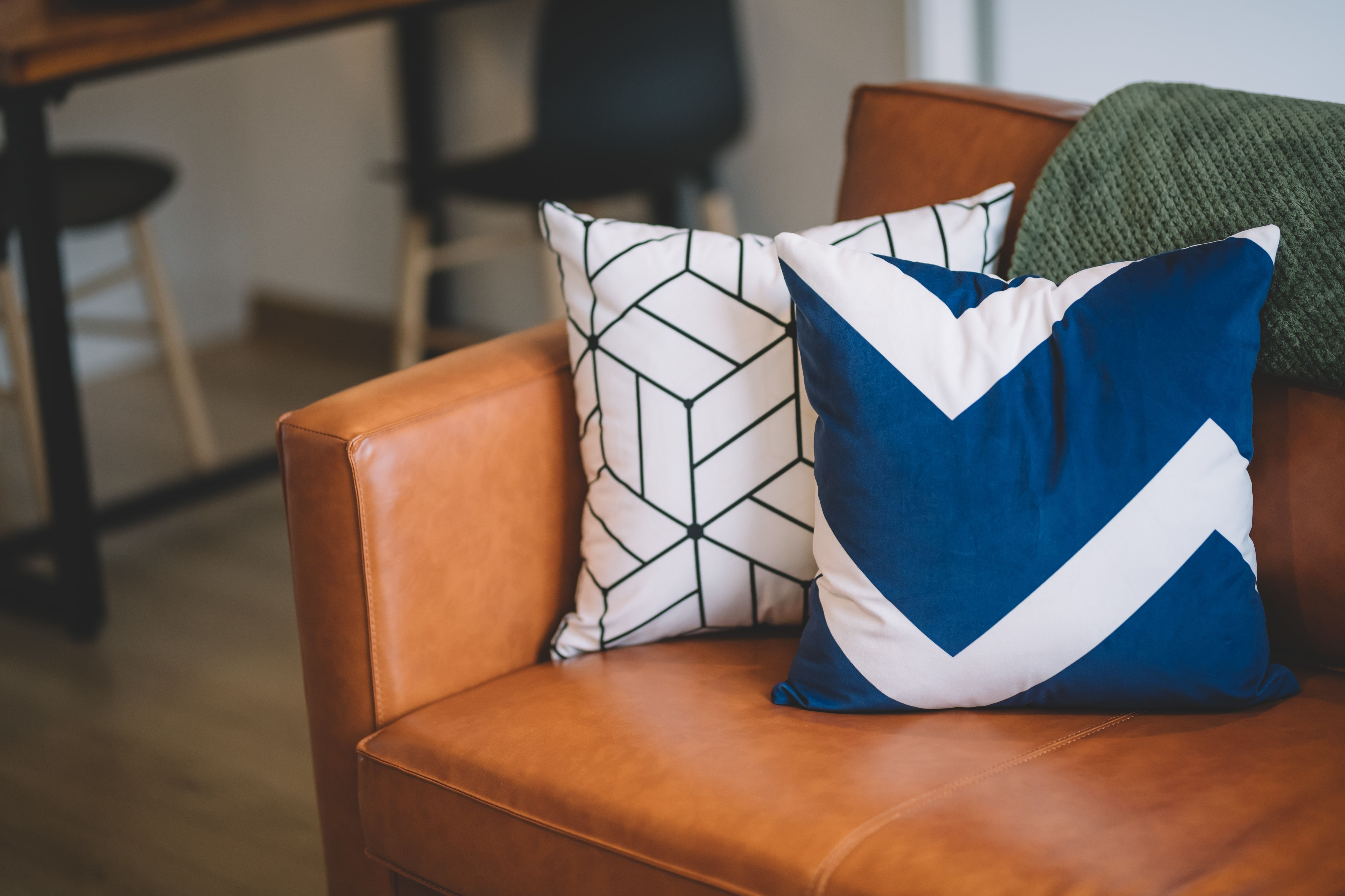 throw pillow covers are an easy way to