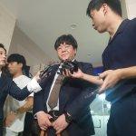 '장제원 아들' 장용준 대신 운전했다고 주장한 남성이 경찰 출석해 한 말