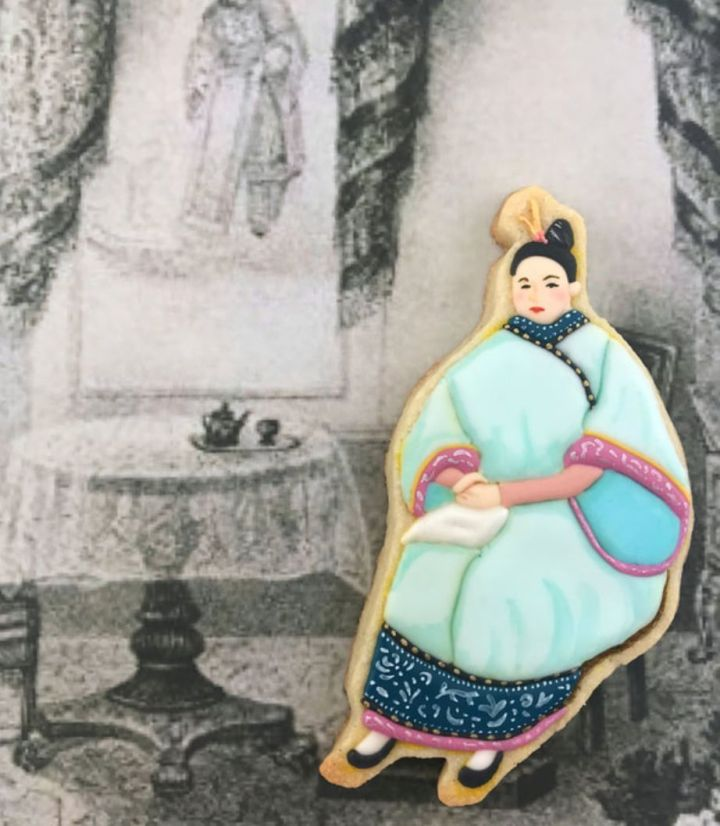 Afong Moy was brought to New York City in 1834 by traders, who displayed her in a museum.