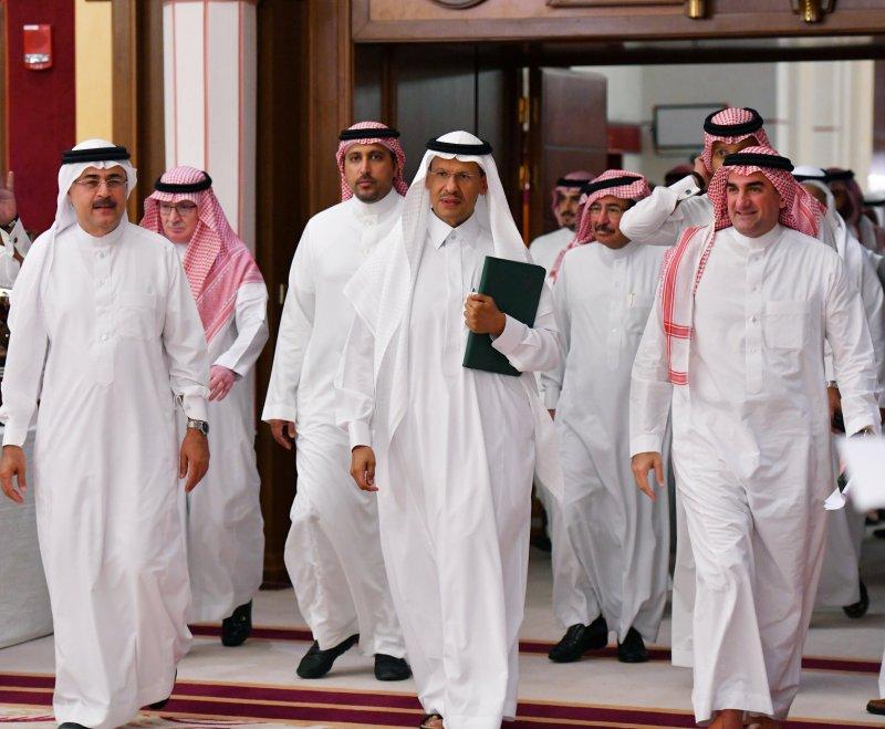 Saudi Energy minister Prince Abdulaziz bin Salman attends a news conference in Jeddah, Saudi Arabia September 17, 2019.  REUTERS/Waleed Ali