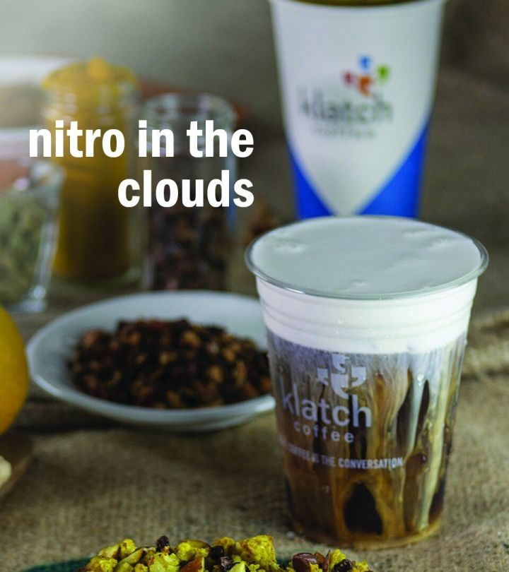 Nitro in the Clouds at Klatch Coffee in California.