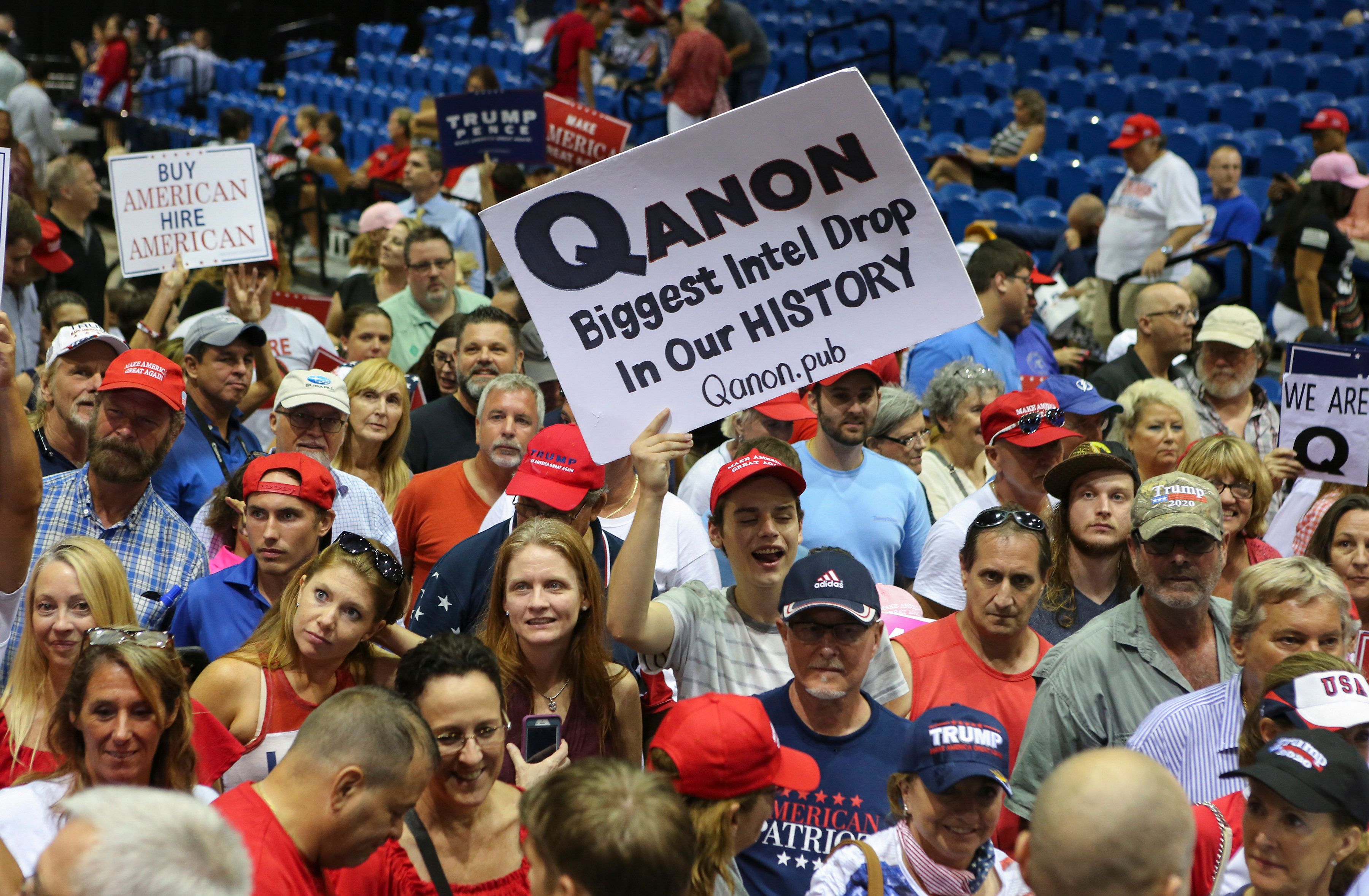 Members of the QAnon community are anxiously awaiting the official launch of 8kun, as they believe it will reenable them to c