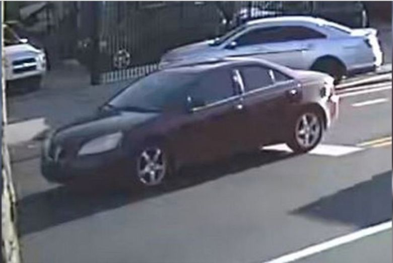 Police say one or more people opened fire from a red Pontiac G6, shooting 10-year-oldSemaj O'Branty.