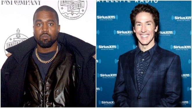 Kanye West is slated to appear at two services this upcoming Sunday at Joel Osteen's Houston megachurch.