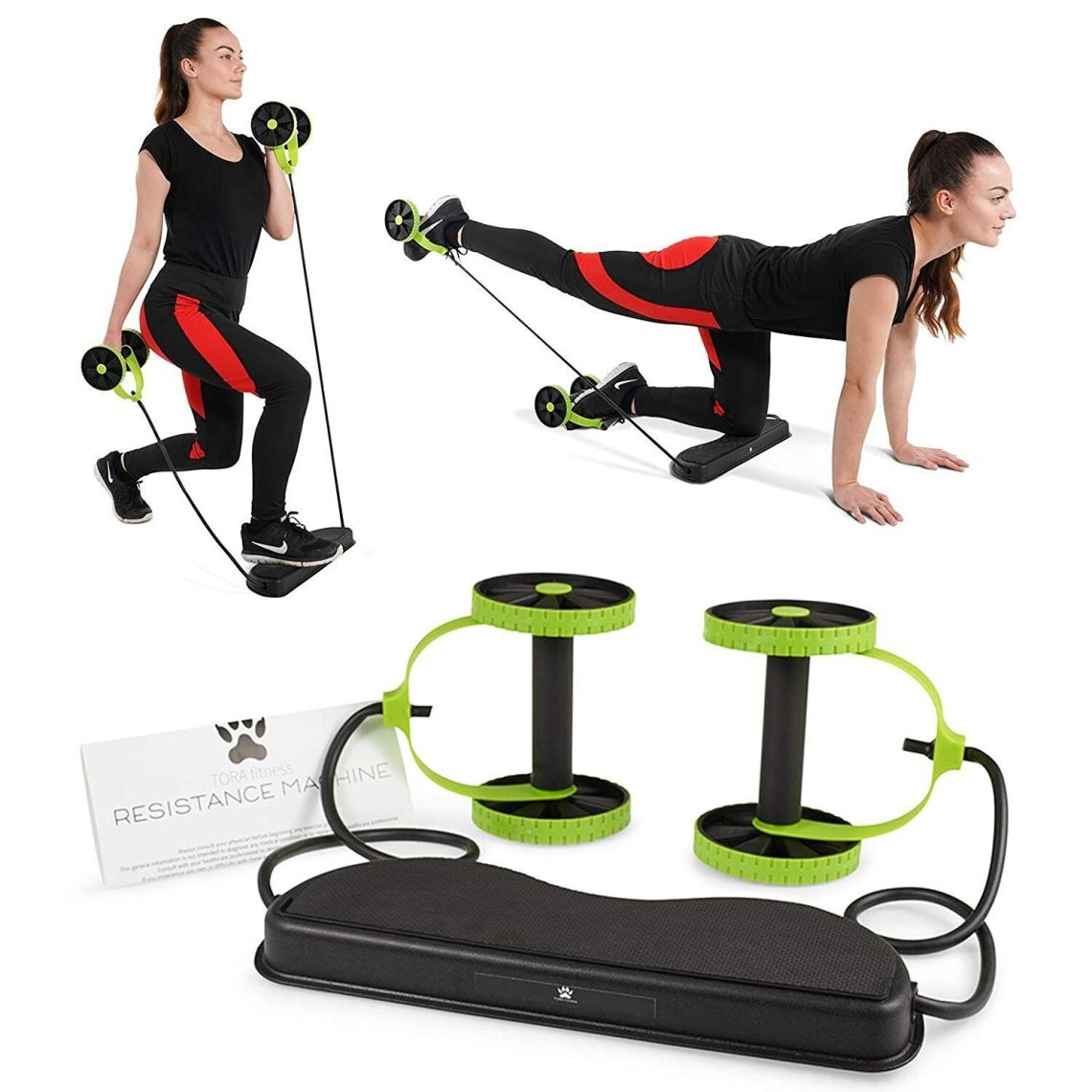 Tora Fitness 40 in 1 Resistance Band Home Workout Machine, Amazon, £9.95