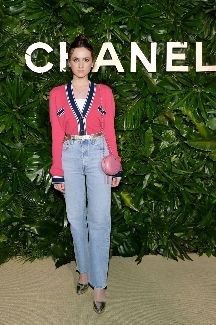 Maude Apatow at a dinner hosted by Chanel in Los Angeles on September 12, 2019.
