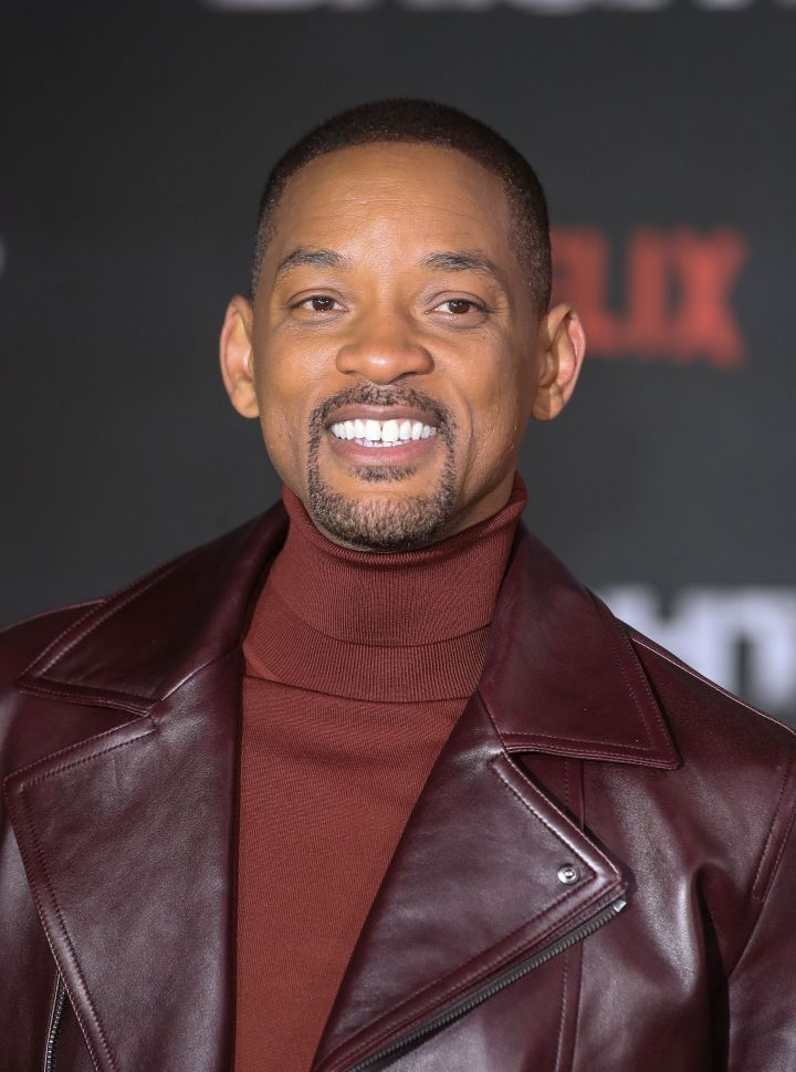 Will Smith at the premiere of