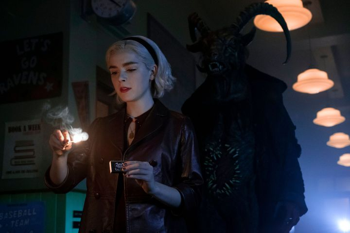 "Kiernan Shipka in ""Chilling Adventures of Sabrina"""