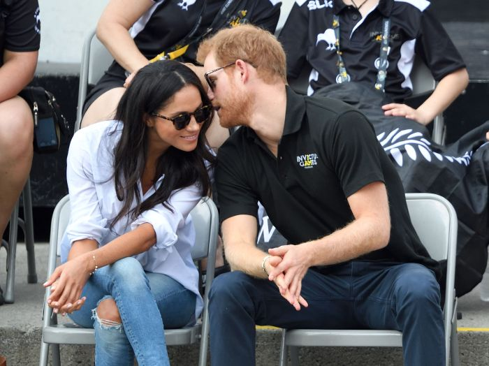 Harry and Meghan made their first official public appearance as a couple in Toronto, at the 2017 Invictus Games.