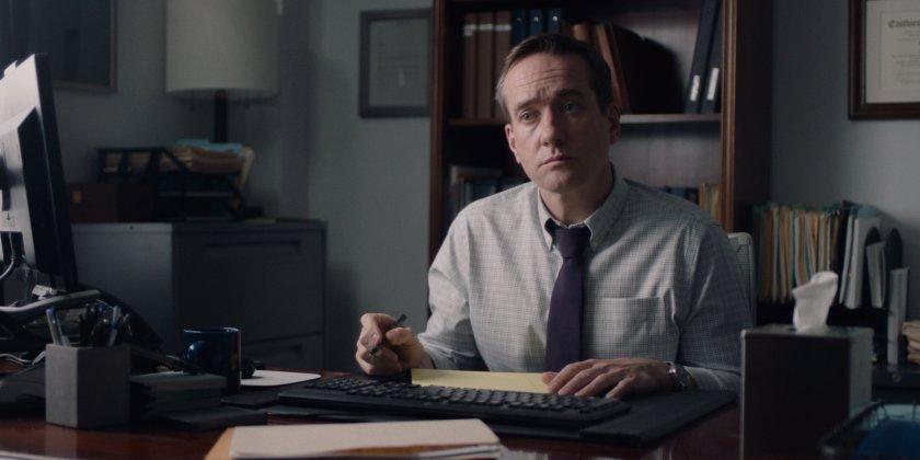 Matthew Macfadyen stars as HR head Wilcock in