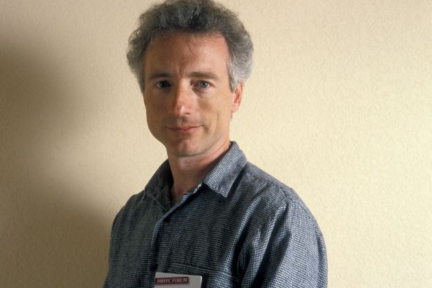 File photo of Larry Tesler, from Apple Computer, at the PC Forum in Palm Springs, California.
