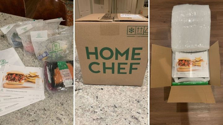 HuffPost Finds shopping expert Danielle Gonzalez received a two-person, three-meal delivery from Home Chef. Here's what she thought of the popular meal kit delivery service.