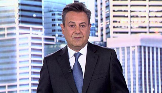 El presentador José
