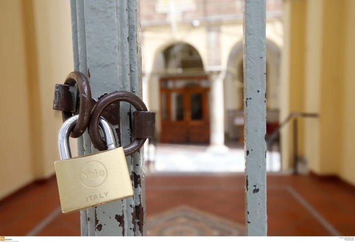 Κλειστός για τους πιστούς και ο Ιερός Ναός του Αγίου Μηνά στη Θεσσαλονίκη από όπου ξεκινούσε η πρώτη...