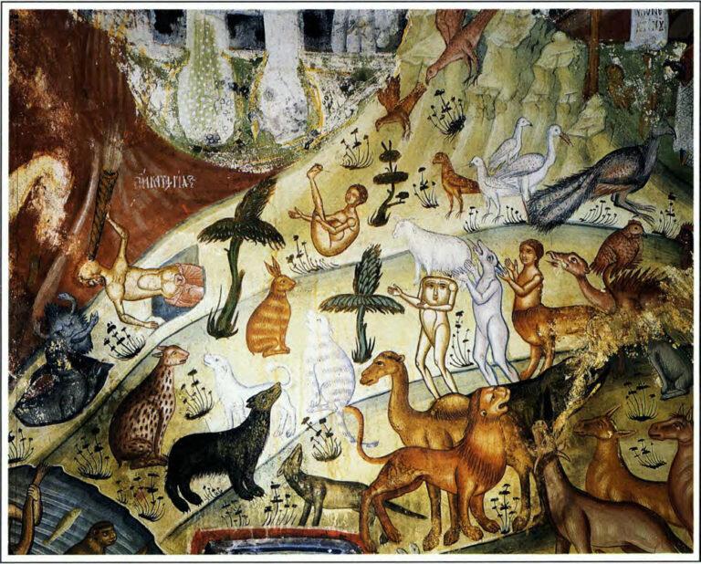 Ναός Αγίου Νικολάου, Βίτσα Ζαγοροχώρια, 1618, «υπό χειρός Μιχαήλ ζωγράφου μετά του ιού Κωνσταντίνου εκ...