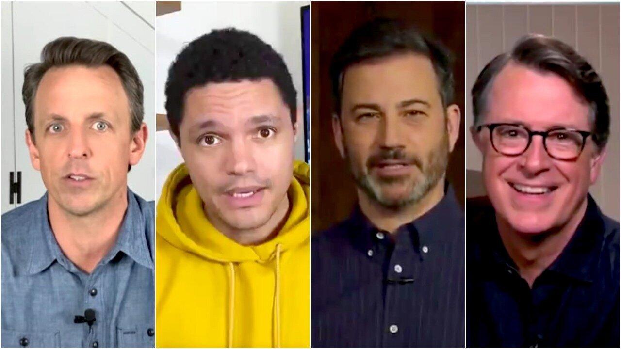 Late Show Hosts Annihilate Trump's 'Sarcasm' Defense 1