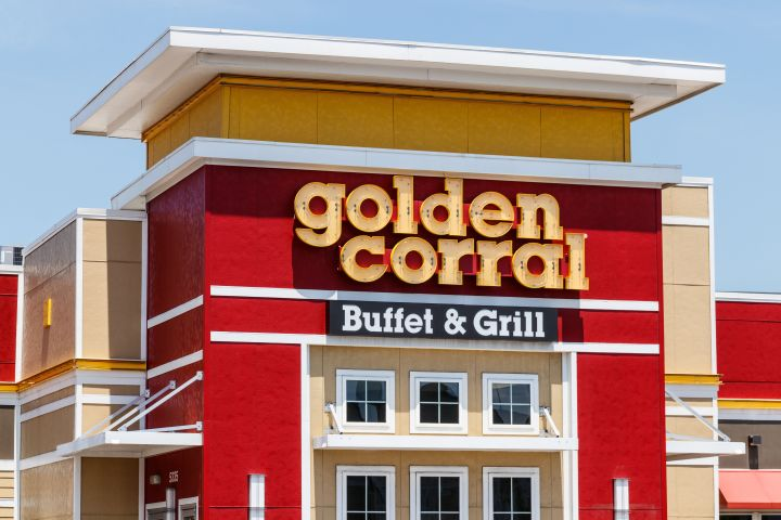 At most locations of Golden Corral, self-serve has shifted to cafeteria-style, where employees serve dishes of food for customers, who aren't allowed to handle serving utensils.