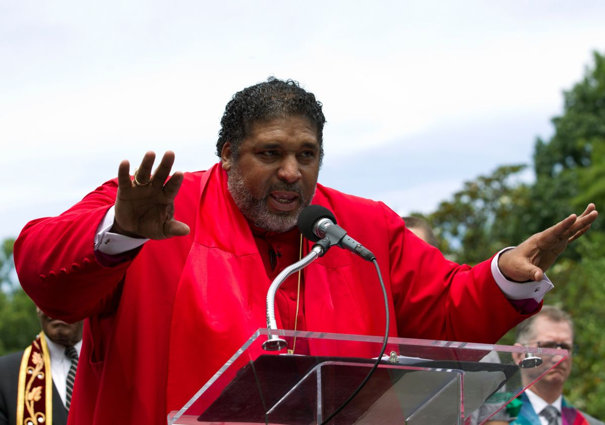Rev. William J. Barber is the co-chair of the<i>&nbsp;</i>Poor People&rsquo;s Campaign: A National Call for Moral Revival, wh