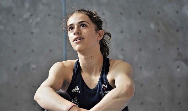Luce Douady, future championne d'escalade âgée de 16 ans, est morte lors d'une