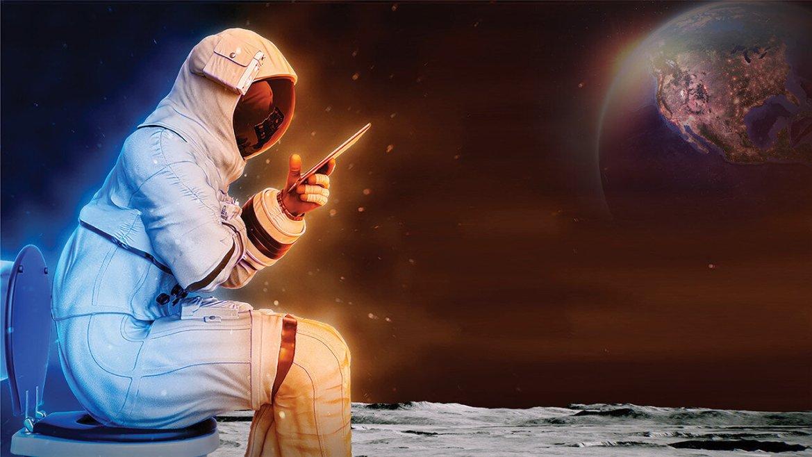 La Nasa cherche des toilettes plus petits, plus efficaces et adaptés à la faible gravité lunaire pour...