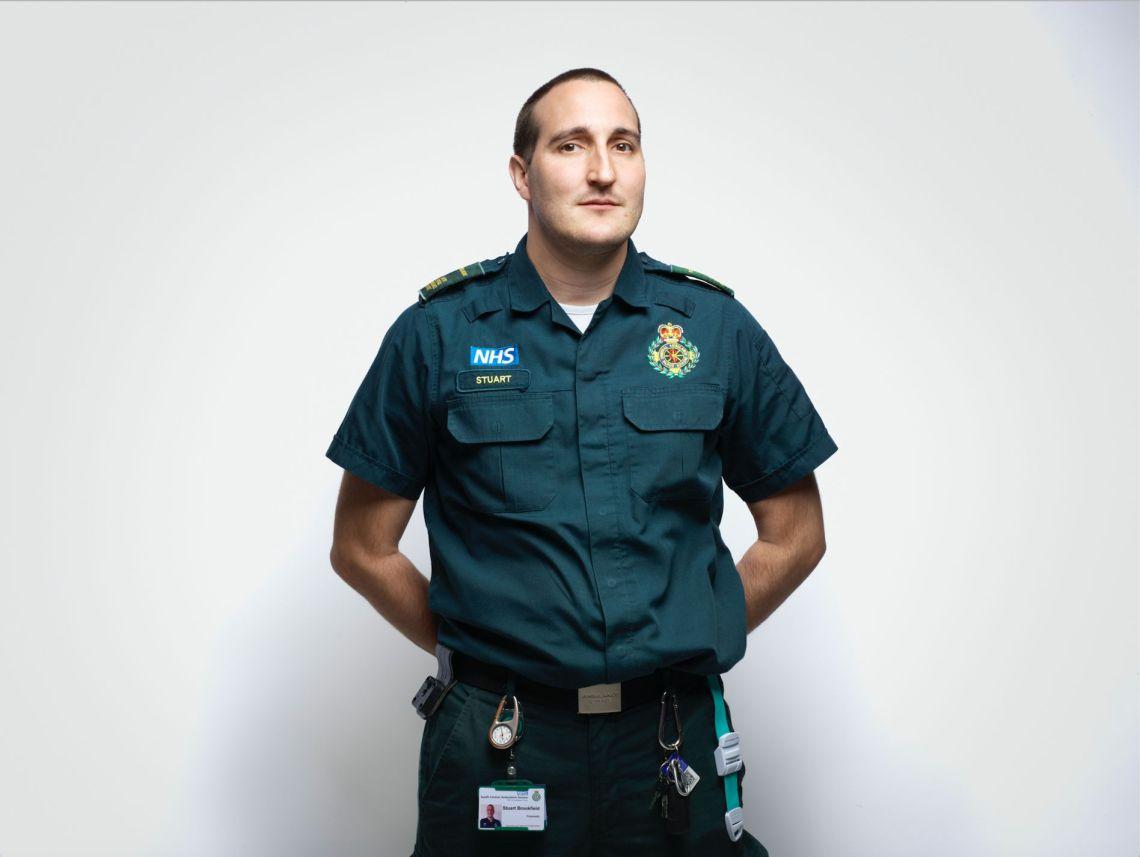 Stuart Brookfield, Paramedic, South Central Ambulance Service NHS Foundation Trust