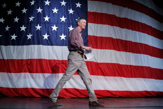 Cory Gardner Former Colorado Gov. John Hickenlooper, a moderate, cruised to victory earlier this week in the state's Democratic Senate pri