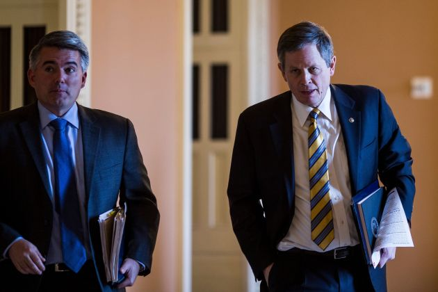 Cory Gardner The dilemma facing Gardner (left) over Trump's nomination of William Perry Pendley is shared by Sen. Steve Daines (right), a