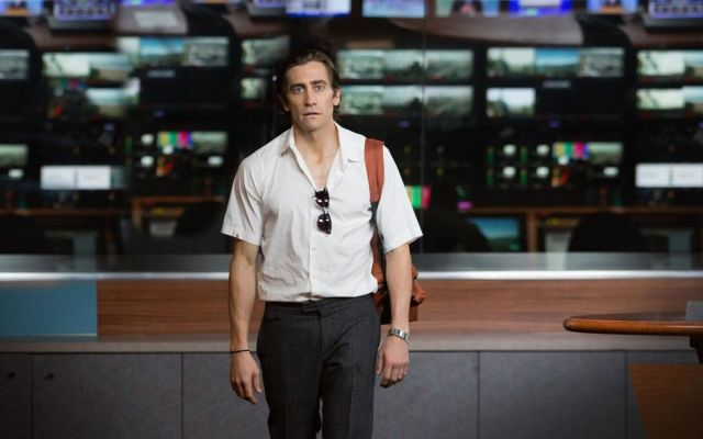 "Jake Gyllenhaal in ""Nightcrawler"" on Netflix."